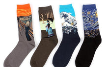 "Load image into Gallery viewer, ""Classical Art"" Socks"