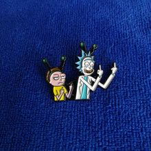 Load image into Gallery viewer, Rick and Morty Enamel Pins
