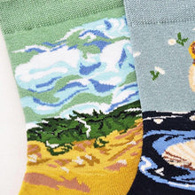 Load image into Gallery viewer, Expressionist Art Socks