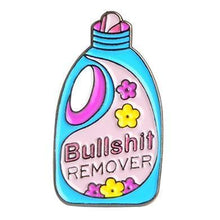 "Load image into Gallery viewer, ""Bullshit Remover"" Assorted Pins"