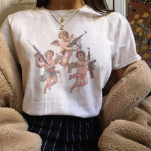 "Load image into Gallery viewer, ""Angels With Ak 47"" Tee"