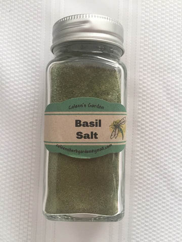 Seasoning Salt - Basil Salt
