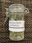 Dried Herbs - Italian Herbs w/Garlic