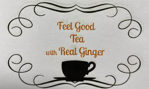 Herbal Tea - Feel Good Tea with Real Ginger
