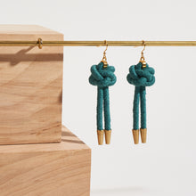 Load image into Gallery viewer, Lanyard Knot Earrings