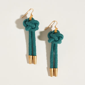 Lanyard Knot Earrings