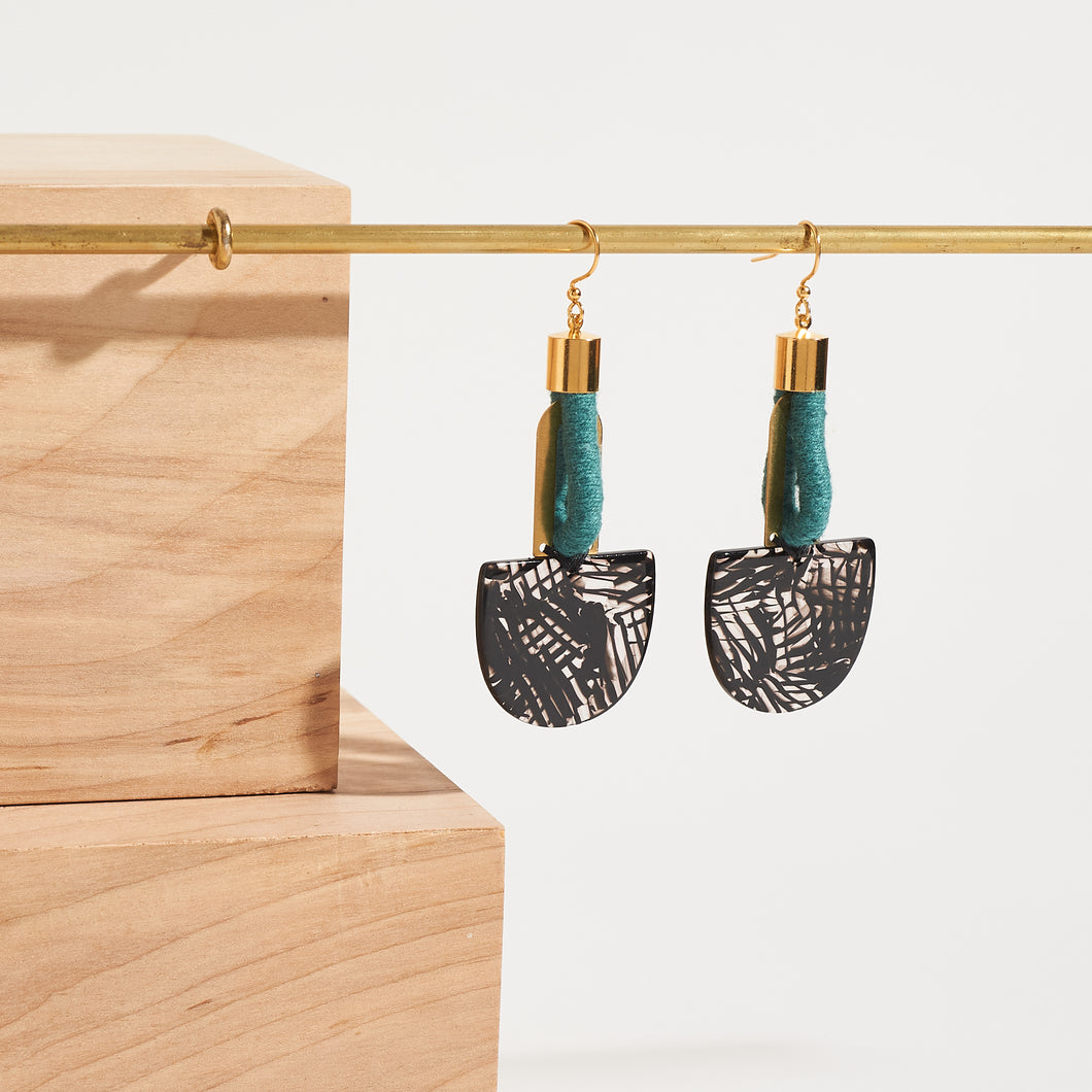 Interconnected Drop Earrings