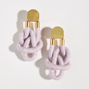 Double Dragon Knot Earrings