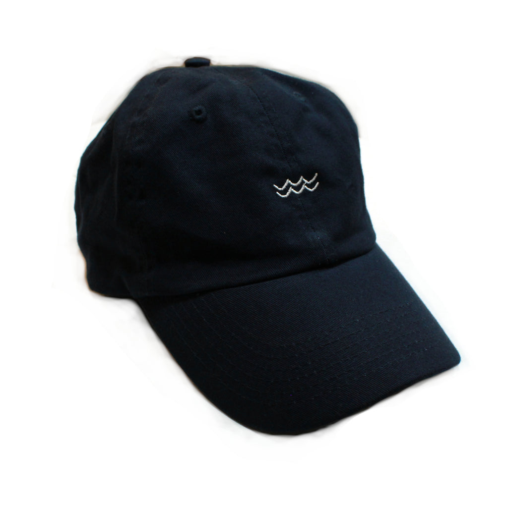Wave Dad Hat - Dark Navy
