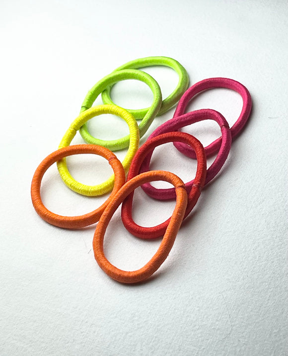 Multi Colour Hair Ties