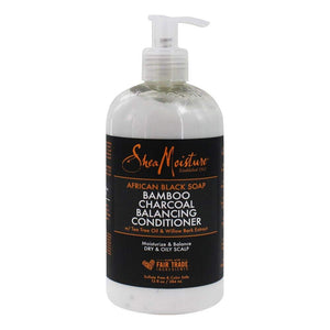 Shea Moisture African Black Soap Bamboo Charcoal Deep Balancing Conditioner