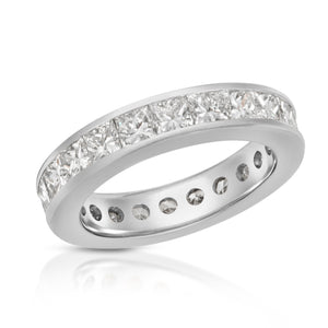 Platinum Diamond - Eternity Band