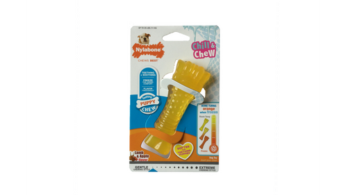 Nylabone Puppy Freezer Bone - Colour Change