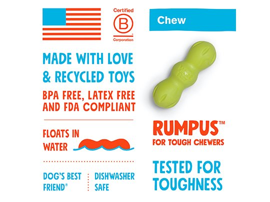 WESTPAW RUMPUS Chew Toy