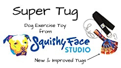 SUPER TUG - Dog exercise toy from Squishy Face Studio