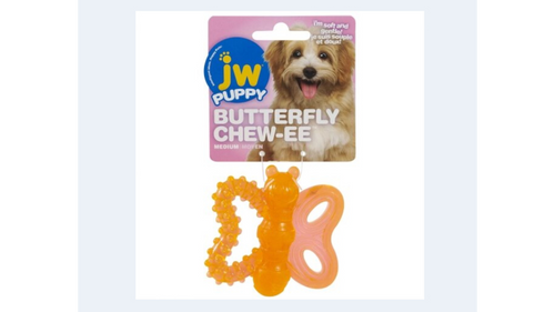 JW Puppy Butterfly Chew-ee Teether