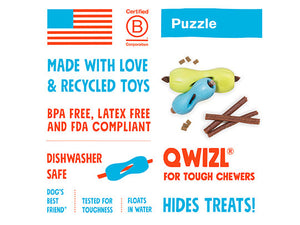 WESTPAW QWIZL Treat & Puzzle Toy