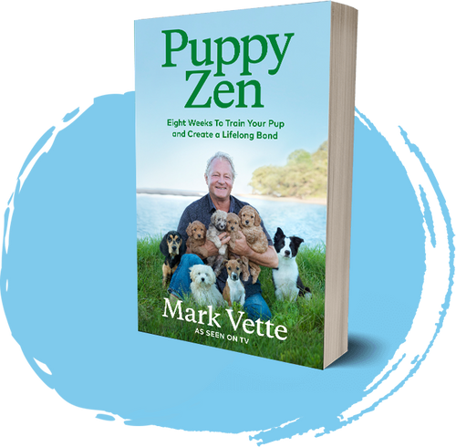 """Puppy Zen"" book by Mark Vette"