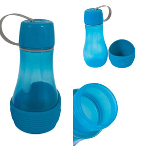 Replendish To Go water bottle and bowl - Blue 830ml