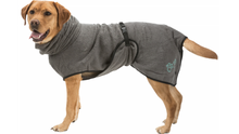 Load image into Gallery viewer, Bathrobe for dogs - grey (30% off RRP!)