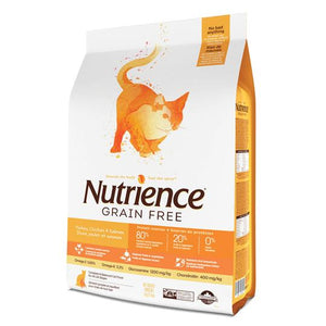 Nutrience Grain Free Cat Food (Turkey, Chicken & Herring)