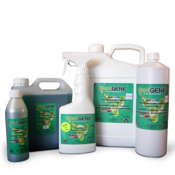 Steri GENE - High level disinfectant and cleaner