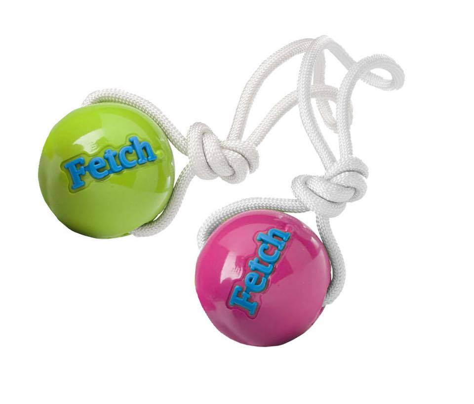 Planet Dog Fetch Ball on Rope