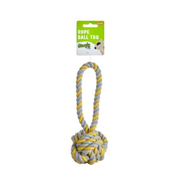 Rope Ball Tug Toy
