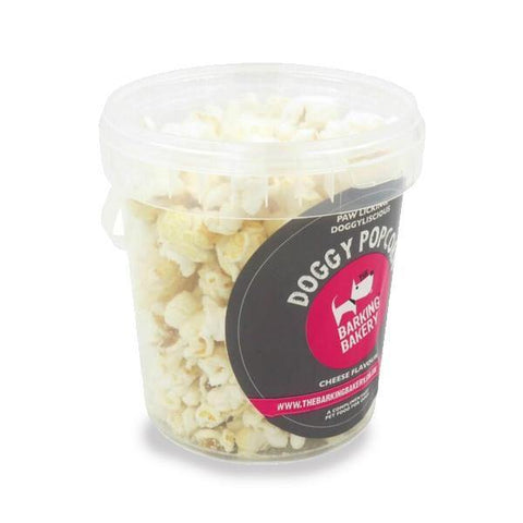 Barking Bakery Dog Cheese Popcorn Tub