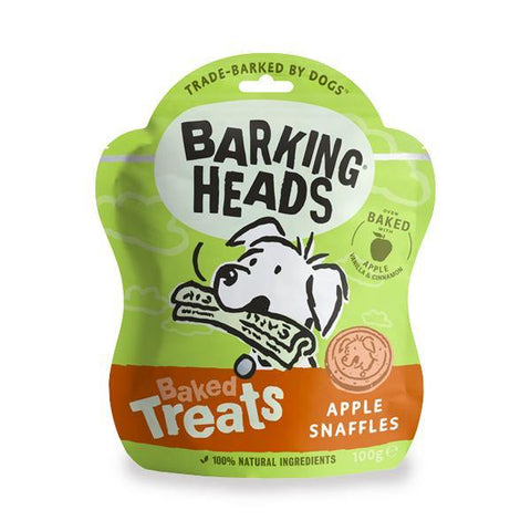 Barking Heads Apple Snaffles Baked Treats - Underdog Pets