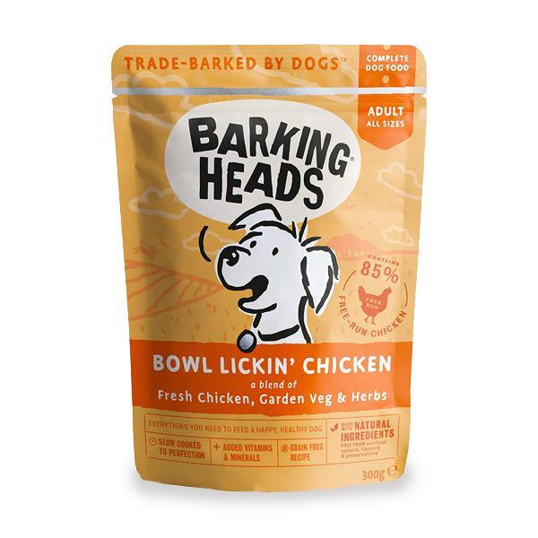 Barking Heads Bowl Lickin' Chicken Pouch - Underdog Pets