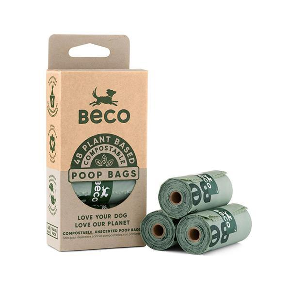 Beco Pets Unscented Compostable Poop Bags