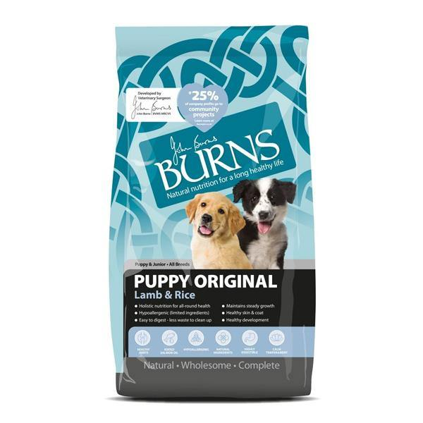 Burns Original Puppy Lamb & Rice Dry Food - Underdog Pets