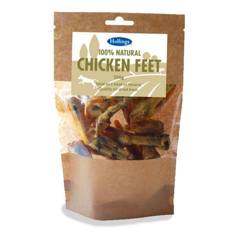 Natural Chicken Feet - Underdog Pets
