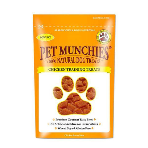 Pet Munchies Chicken Training Treats - Underdog Pets