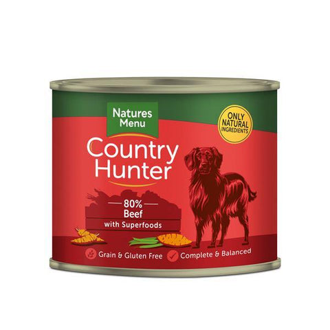 Country Hunter 80% Beef with Superfoods - Underdog Pets