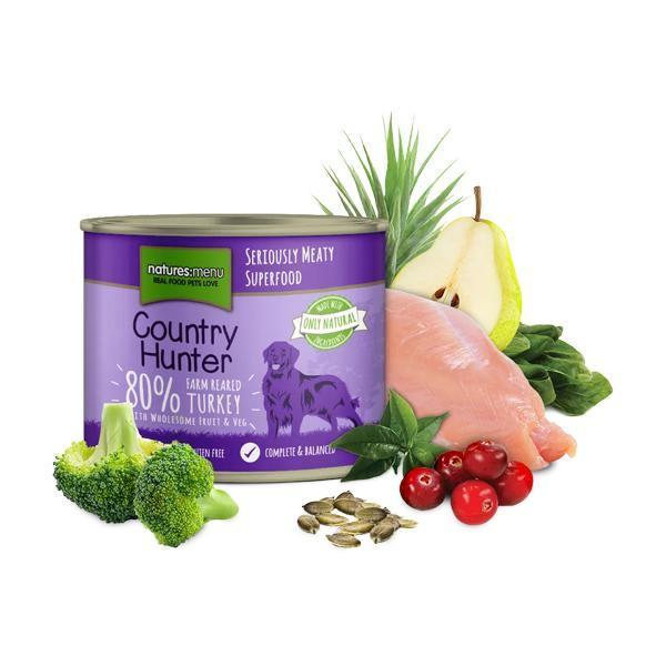 Country Hunter 80% Farm Reared Turkey with Superfoods - Underdog Pets
