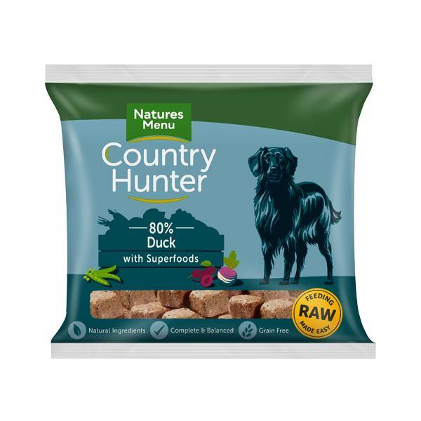 Country Hunter Duck Nuggets with Superfoods