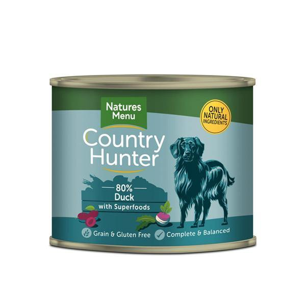 Country Hunter 80% Succulent Duck with Superfoods - Underdog Pets