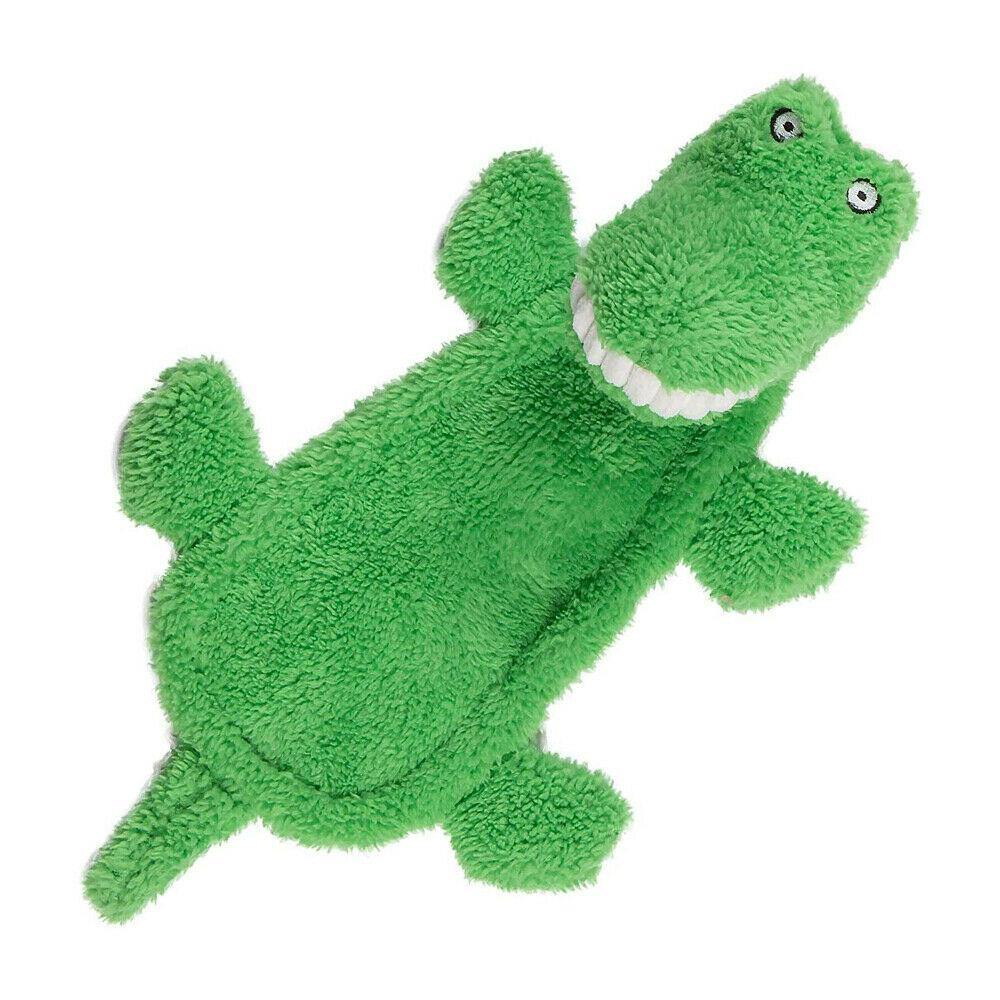 Squeaky Crocodile Dog Toy - Underdog Pets