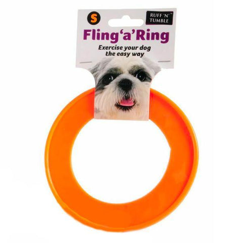 Fling 'A' Ring Dog Toy