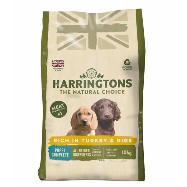 Harringtons Puppy Food Turkey & Rice - Underdog Pets