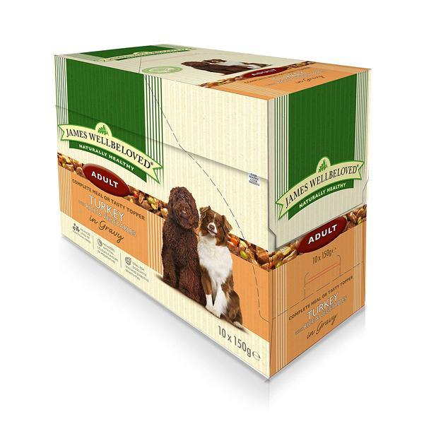 James Wellbeloved Dog Adult Turkey & Rice Wet Dog Food - Underdog Pets