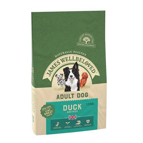 James Wellbeloved Adult Dog Food Duck & Rice