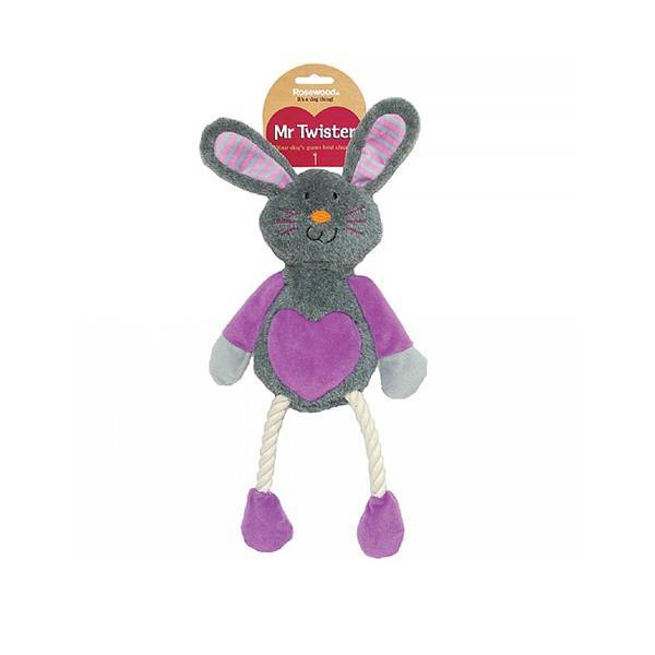 Ruby Rabbit Rope Dog Toy
