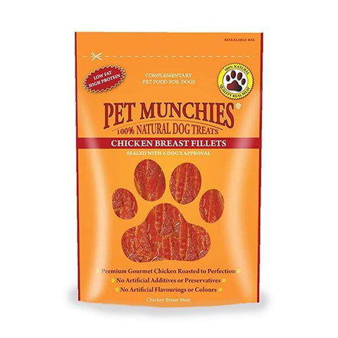Pet Munchies Chicken Breast Fillet - Underdog Pets