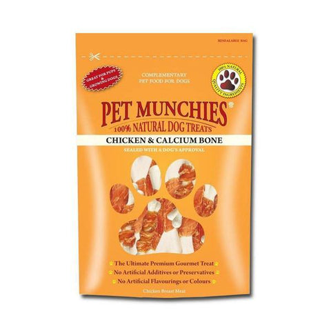 Pet Munchies Calcium and Chicken Bones - Underdog Pets