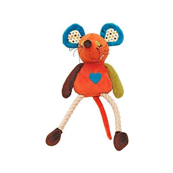 Maisie Mouse Rope Toy