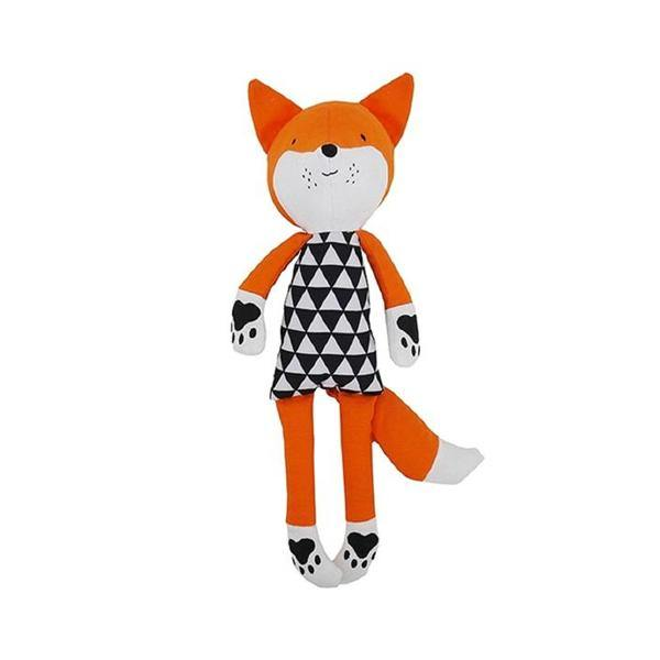 Mr Fox Squeaky Dog Toy