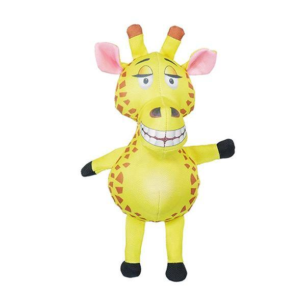 Jolly Doggy Tough Giraffe Elephant Toy